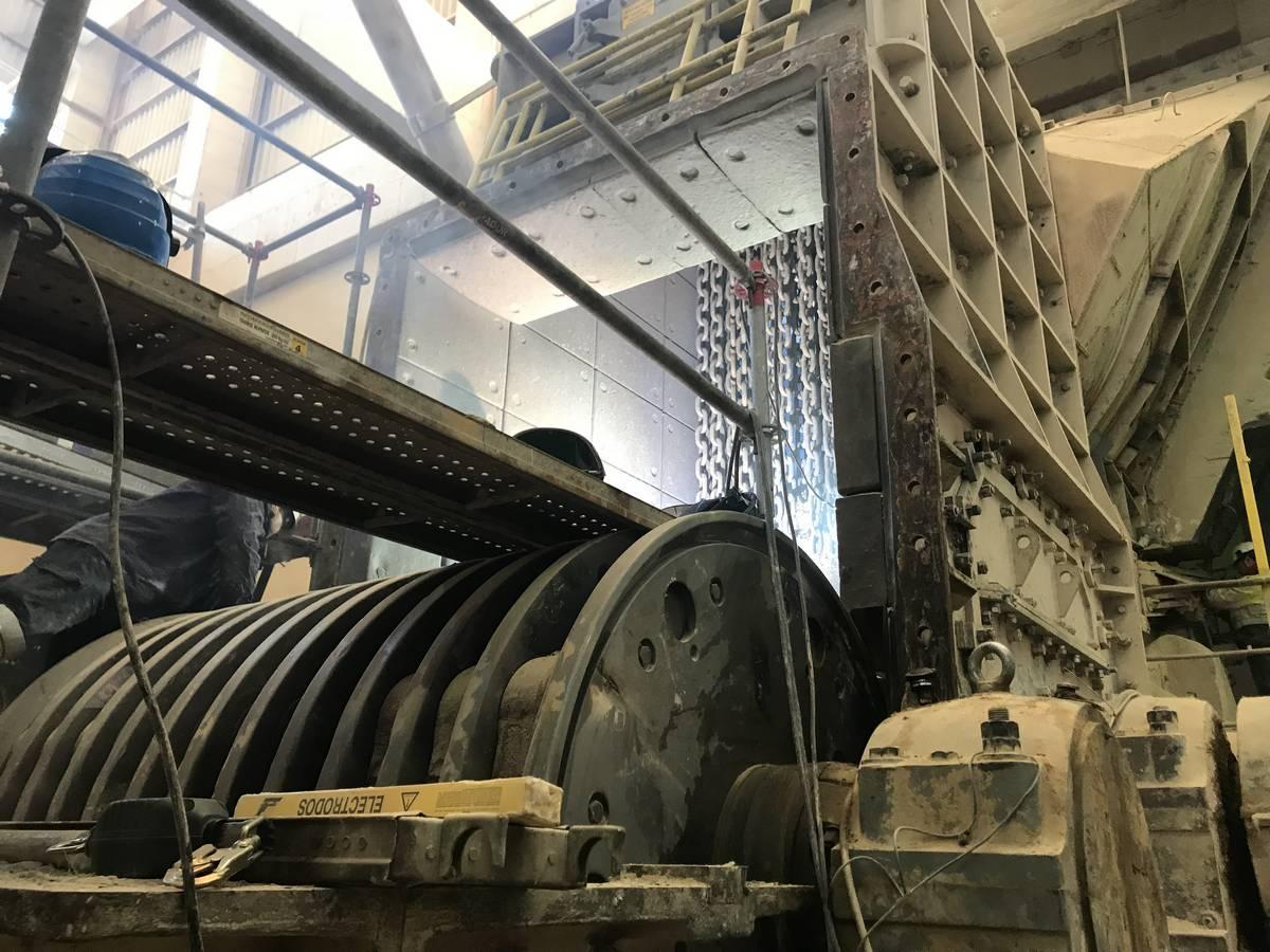 Componentes para instalaciones de transporte de sólidos